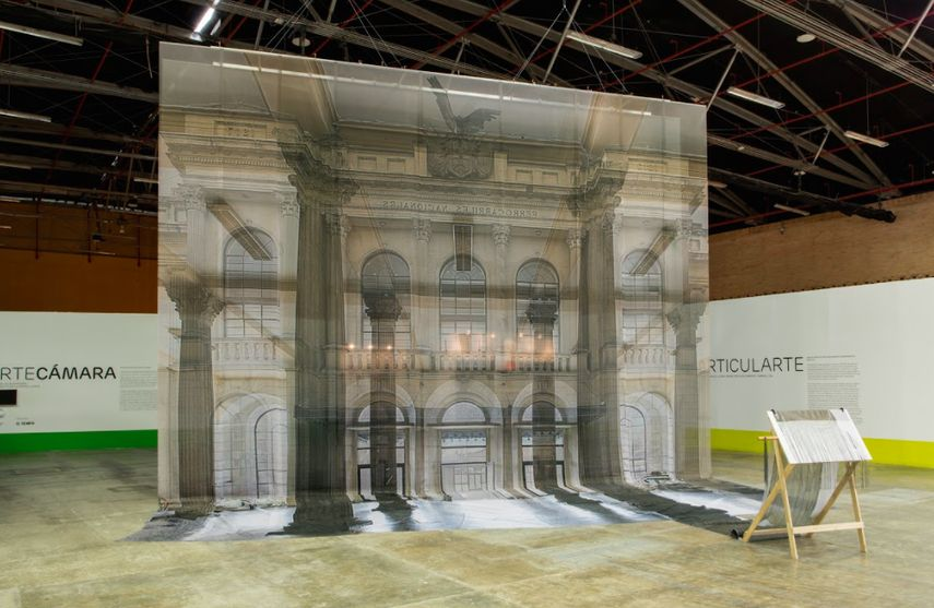 Leyla Cárdenas' Espectacular Installation