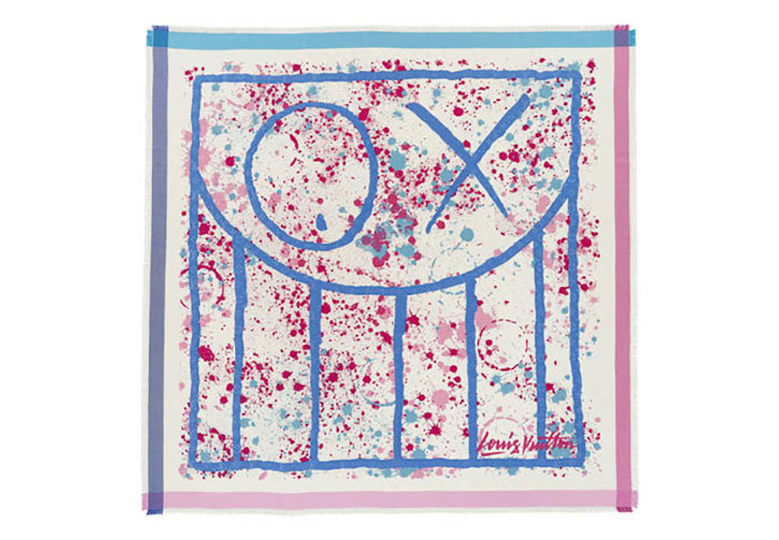Louis Vuitton Artist Scarves
