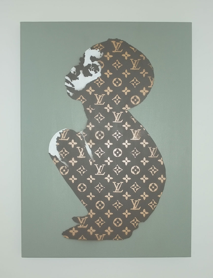 Louis Vuitton street art