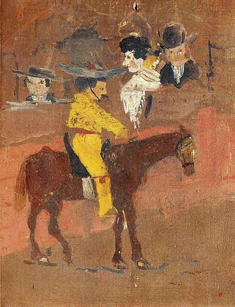 Pablo Picasso - La Picador, 1890