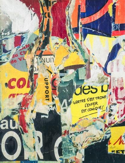 Jacques Villegle-Sartre S'Est Trompe-2009