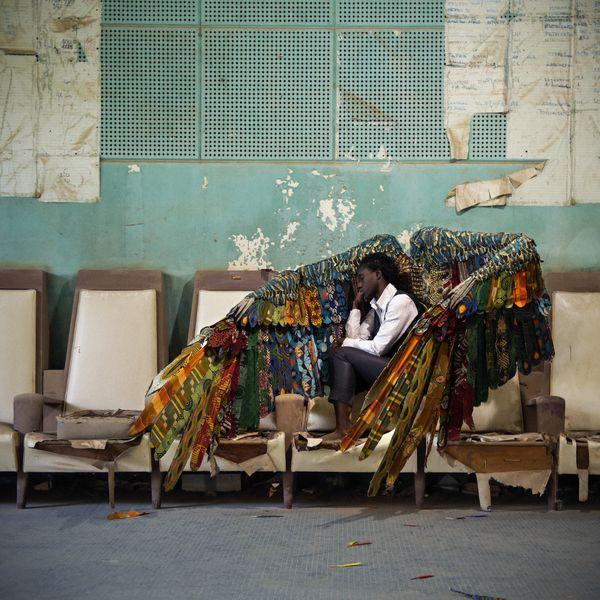Laeïla Adjovi & Loïc Hoquet - Malaïka Dotou Sancofa #3bis, 2017