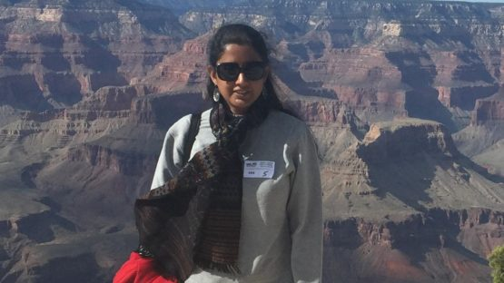 Lakshmi Mohanbabu - Photo of the artist - Image courtesy of the artist