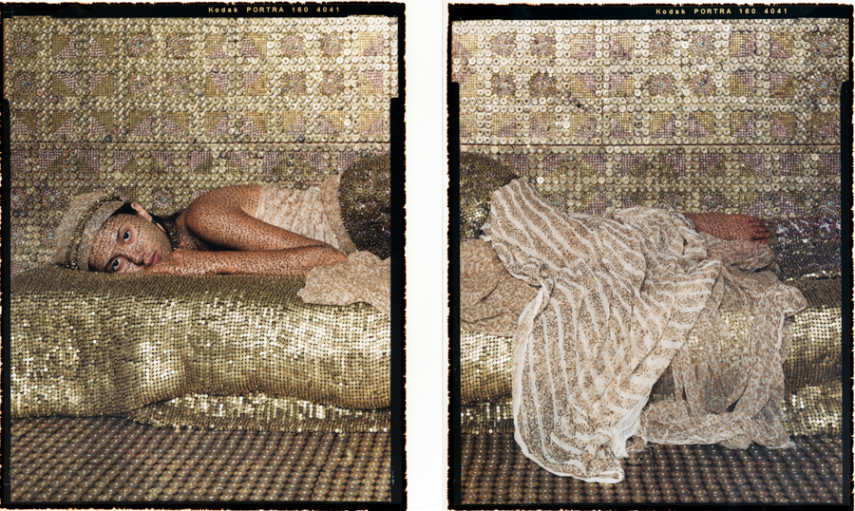 Lalla Essaydi - Bullet Revisited #31Diptych, 2012-2013