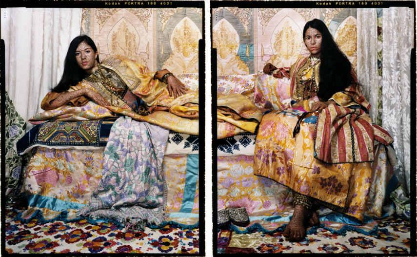 Lalla Essaydi - Harem Revisited #32, 2012-2013 bullets femmes maroc harem moroccan