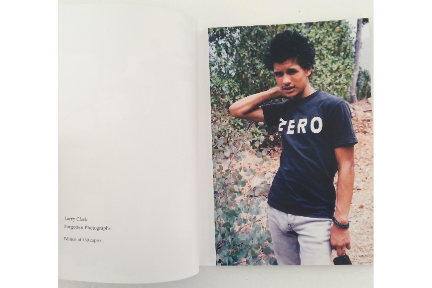 Larry Clark - FORGOTTEN PHOTOGRAPHS, 2014