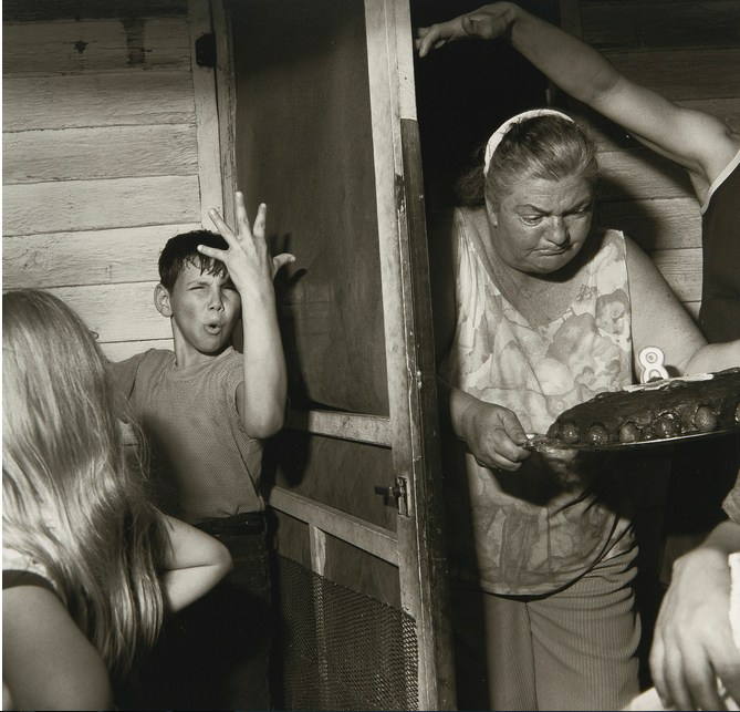 Larry Fink-Pat SabatineS Eighth Birthday Party, Pa.-1977