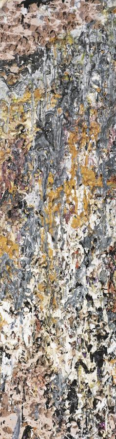 Larry Poons-My Side-1983
