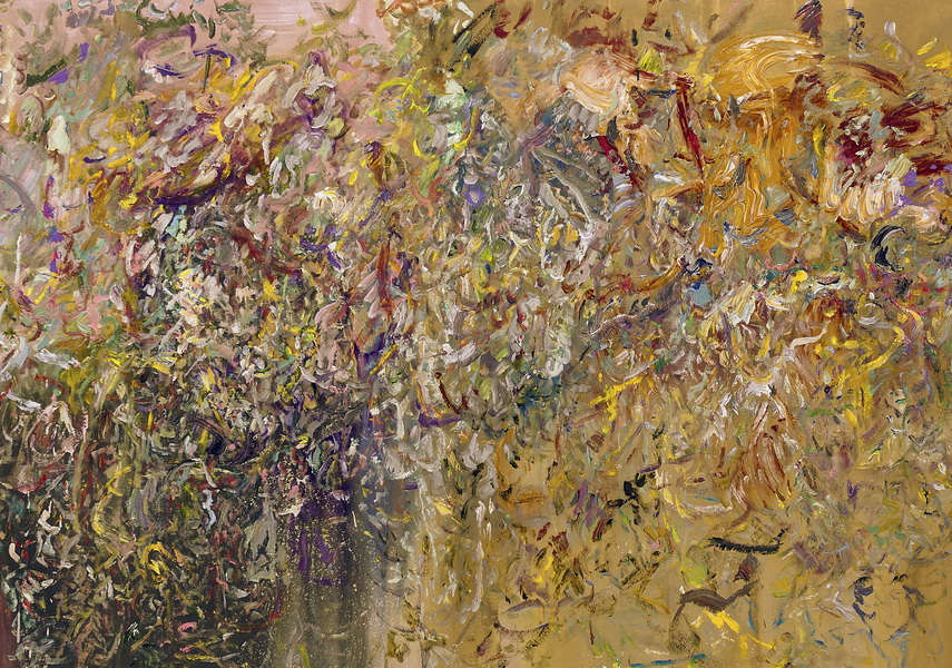 Larry Poons - Untitled, 2016 - image via contemporaryartdaily