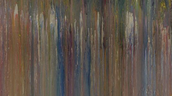 Larry Poons - Untitled (P22), 1974 (detail)