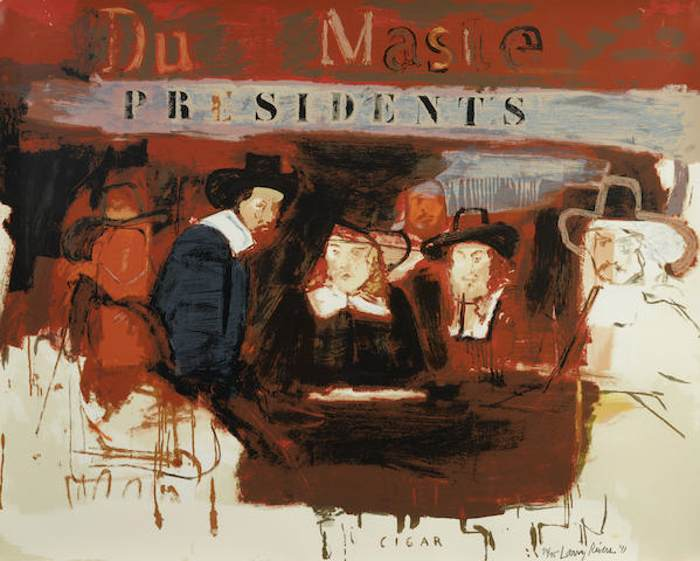 Larry Rivers-Dutch Masters (Presidents)-1991