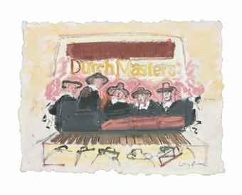 Larry Rivers-Raised Dutch Masters-1985
