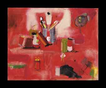 Larry Rivers-Red Still Life-1958