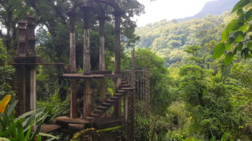 Las Pozas Surrealist Garden Edward James Mexico