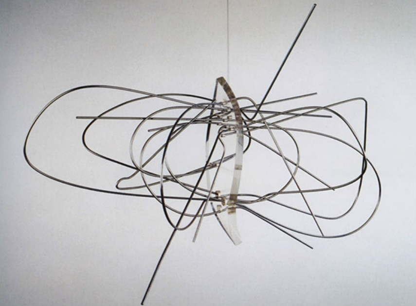 Laszlo Moholy-Nagy - Dual form with Chromium, 1946 new