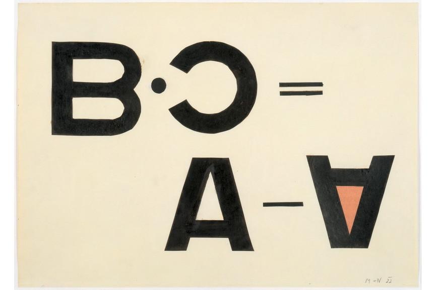 Laszlo Moholy-Nagy - Typographic Collage