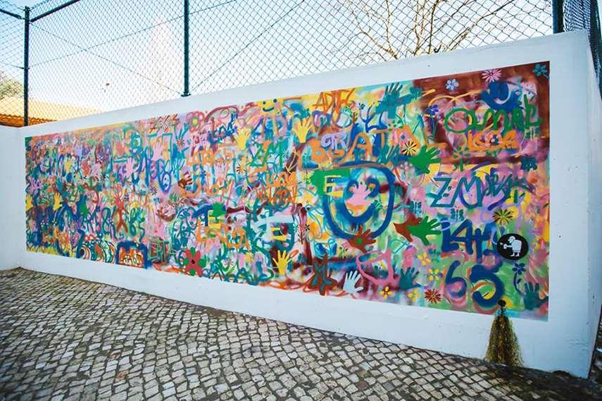 old design photos photography Lisbon workshops graffiti senior people older 2015 creative stencils