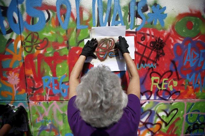 Lisbon workshops graffiti senior citizens