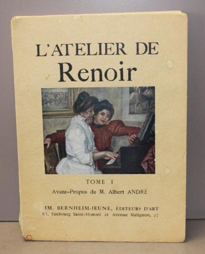 Renoir's studio - Volume I (Foreword by Andre M.Albert, Mr. Bernheim-Jeune)-