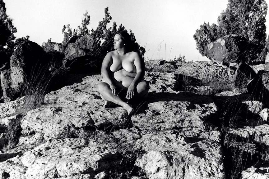 Laura Aguilar - Nature Self-Portraits#11, 1996