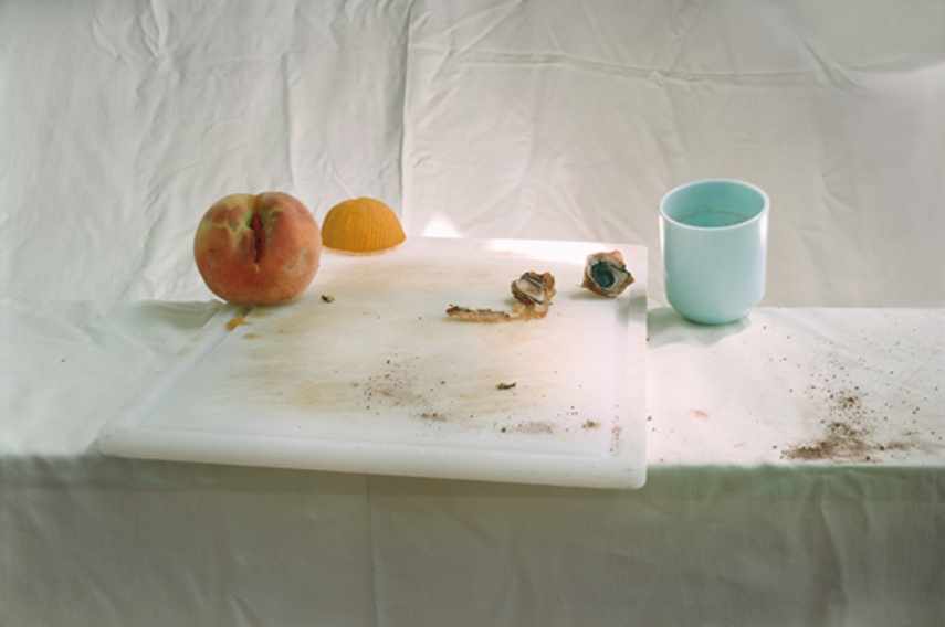 The visual artwork Untitled #64 resembles 17th century paintings in terms of establishing contact with the viewers