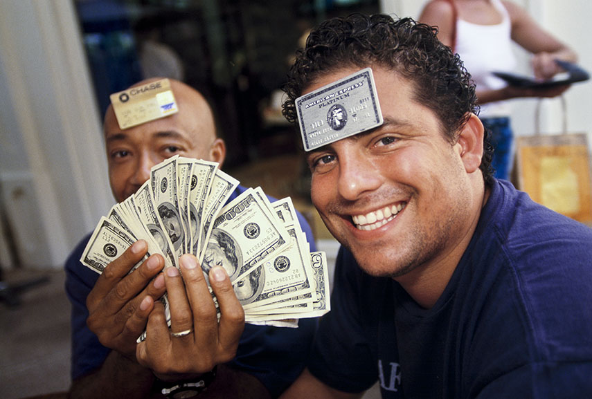 Brett Ratner and Russell Simmons, 1998