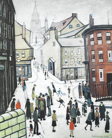 Laurence Stephen Lowry-Berwick-upon-Tweed-1973