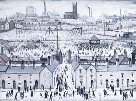 Laurence Stephen Lowry-Britian at Play-