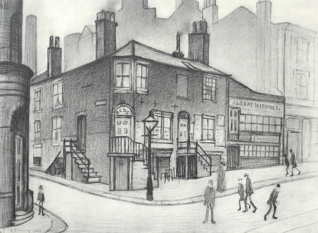 Laurence Stephen Lowry-Great Ancoates Street-