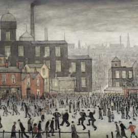 Laurence Stephen Lowry-Our Town