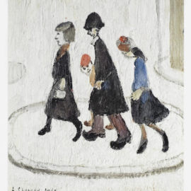 Laurence Stephen Lowry-The Family