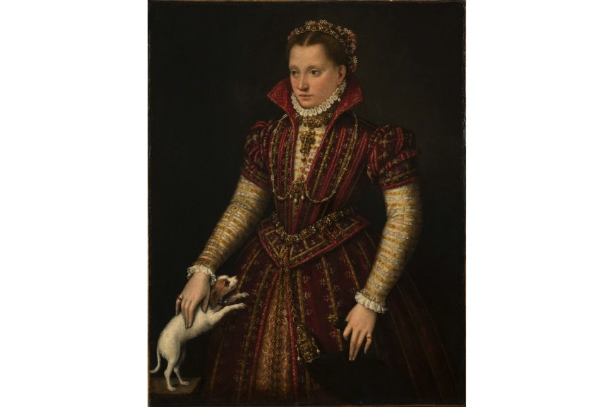 Lavinia Fontana - Portrait of a Noblewoman, ca. 1580