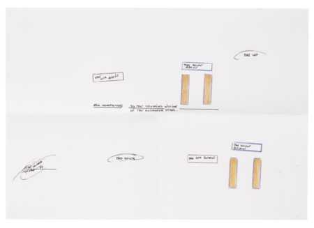 Lawrence Weiner-The Sea Above/The Up/The Down/The Sea Below-1999