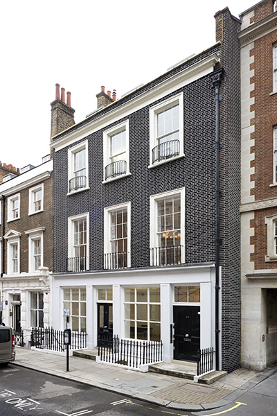 Lazinc at 29 Sackville Street, London, courtesy the gallery