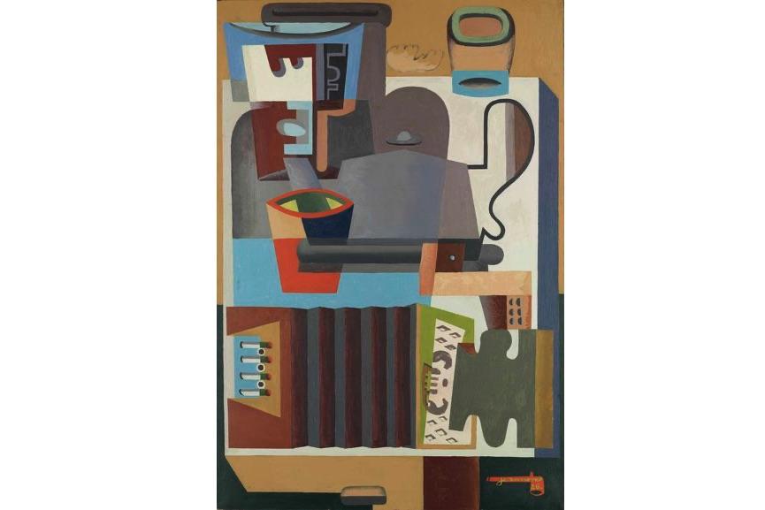 Le Corbusier - Accordéon, carafe et cafetière, 1926