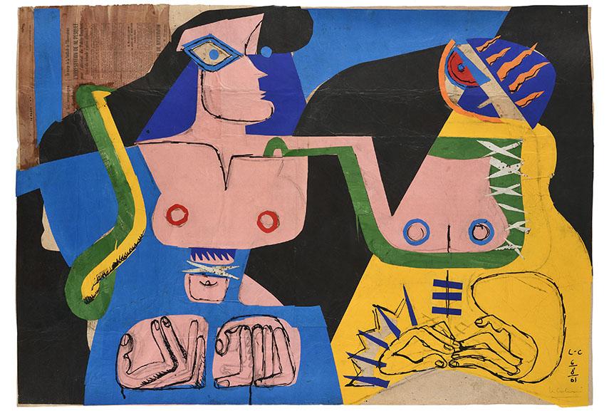 Le Corbusier - Deux Femmes fantasques, 1961