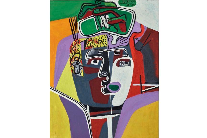 Le Corbusier - Mains Croisees Sur La Tete, 1940