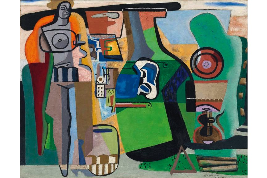 Le Corbusier - Nature morte et figure, 1944