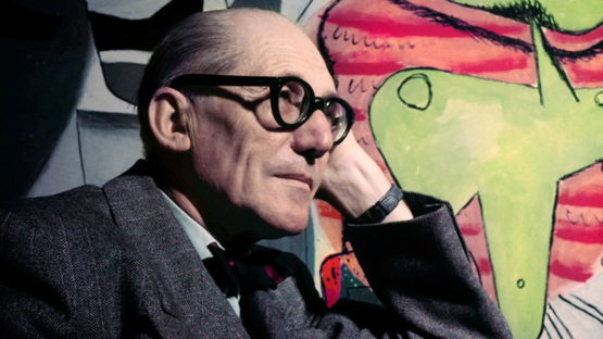 Le Corbusier, photo by Willy Rizzo