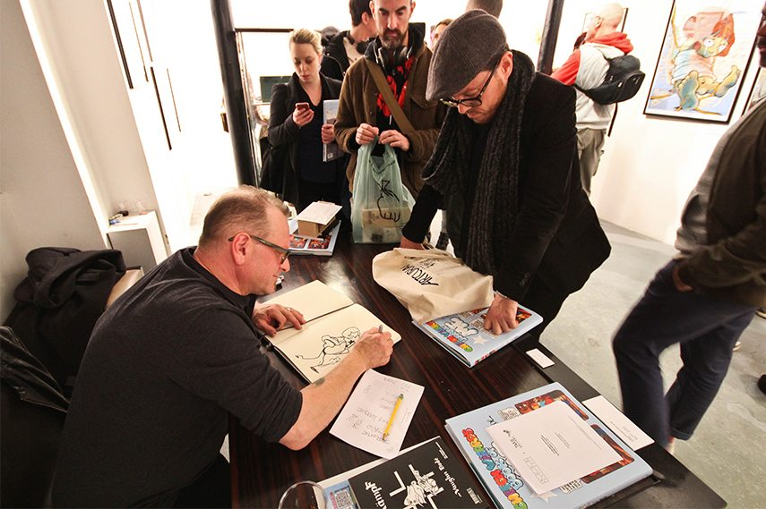 Le Monde Erotique de Mark Bode et Vaughn Comics pour Graffiti opening 6
