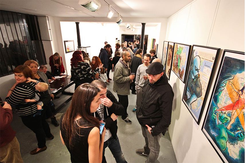 Le Monde Erotique de Mark Bode et Vaughn Comics pour Graffiti opening 8