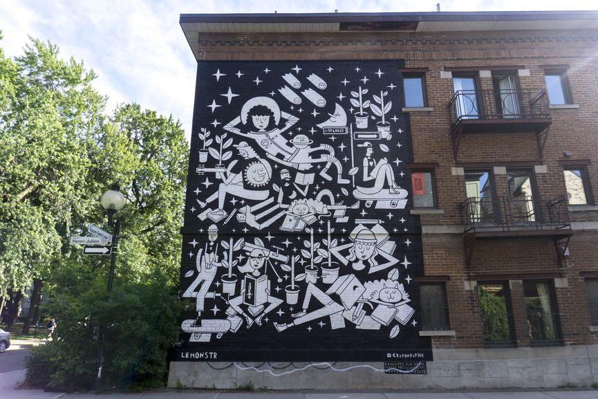LeMonstr, Mural Festival 2018