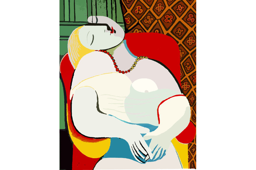 Pablo Picasso - Paris museum is a home for all canvas arts, as for picasso art too - picasso paintigs are picasso paintigs