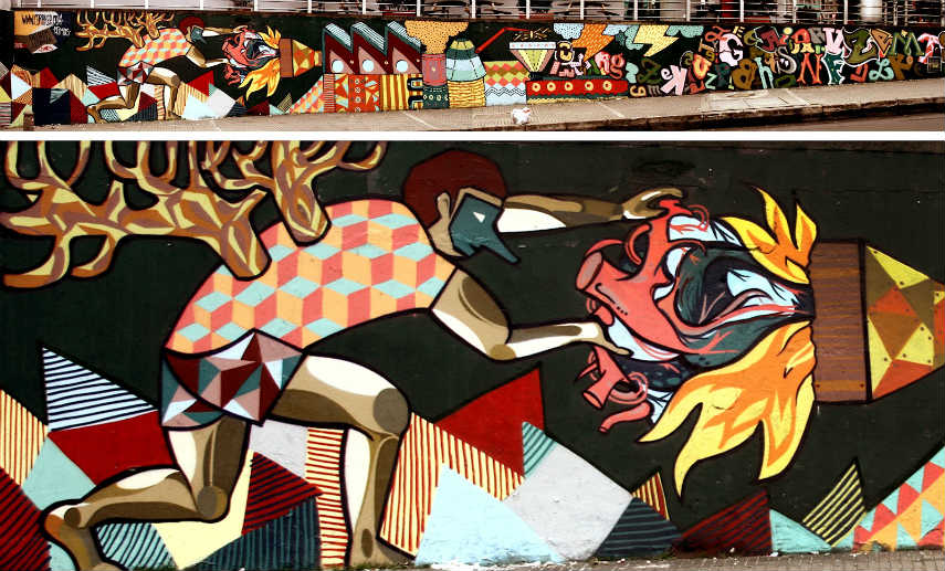 LeDania - Wall in Bogota, 2012, photo via ledania.blogspot.rs video post vimeo flickr link cookies anmelden ceroker world