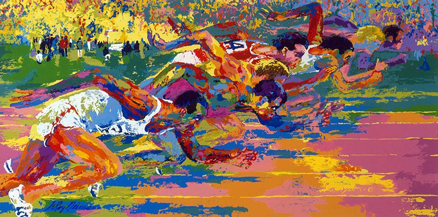 Leroy Neiman is among 500 best known American artists with international career