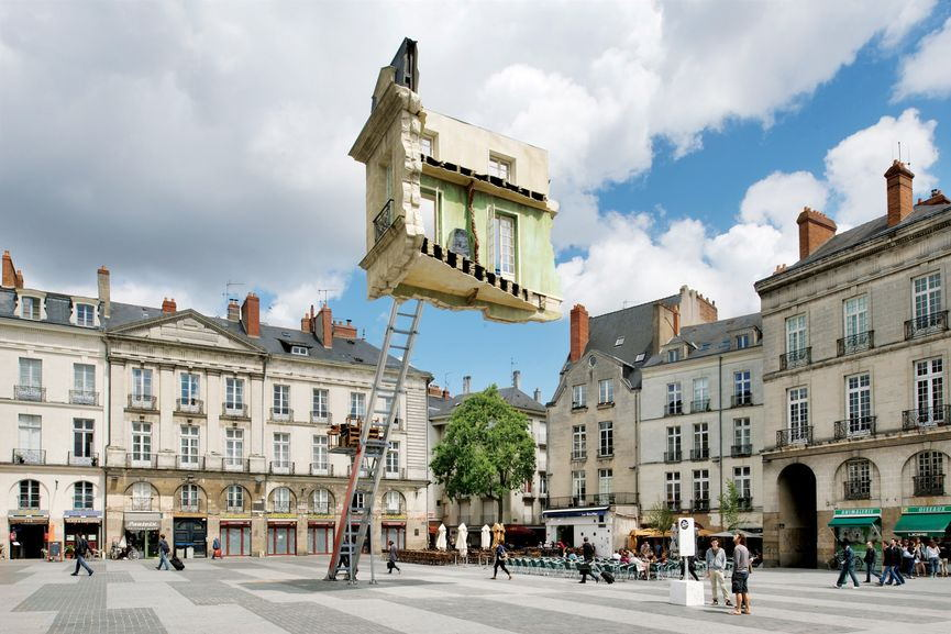 "Leandro Erlich - L'ultime Déménagement"", via highlike org"