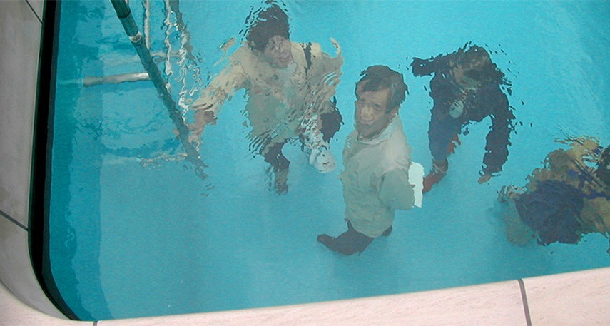 Leandro Erlich - Swimming Pool, 1999 new york museum 2008 venice water 2013 exhibition 2014 swimming pool