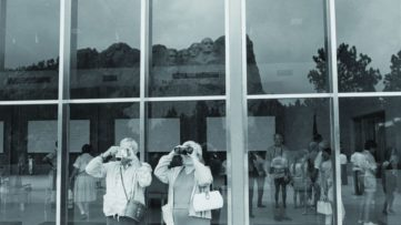 Lee Friedlander - Mount Rushmore, 1969