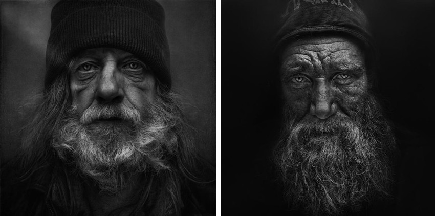Lee Jeffries - Untitled #5 - Untitled #6