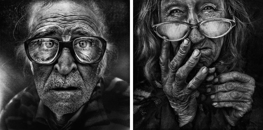 Lee Jeffries - Untitled #9 - Untitled #10
